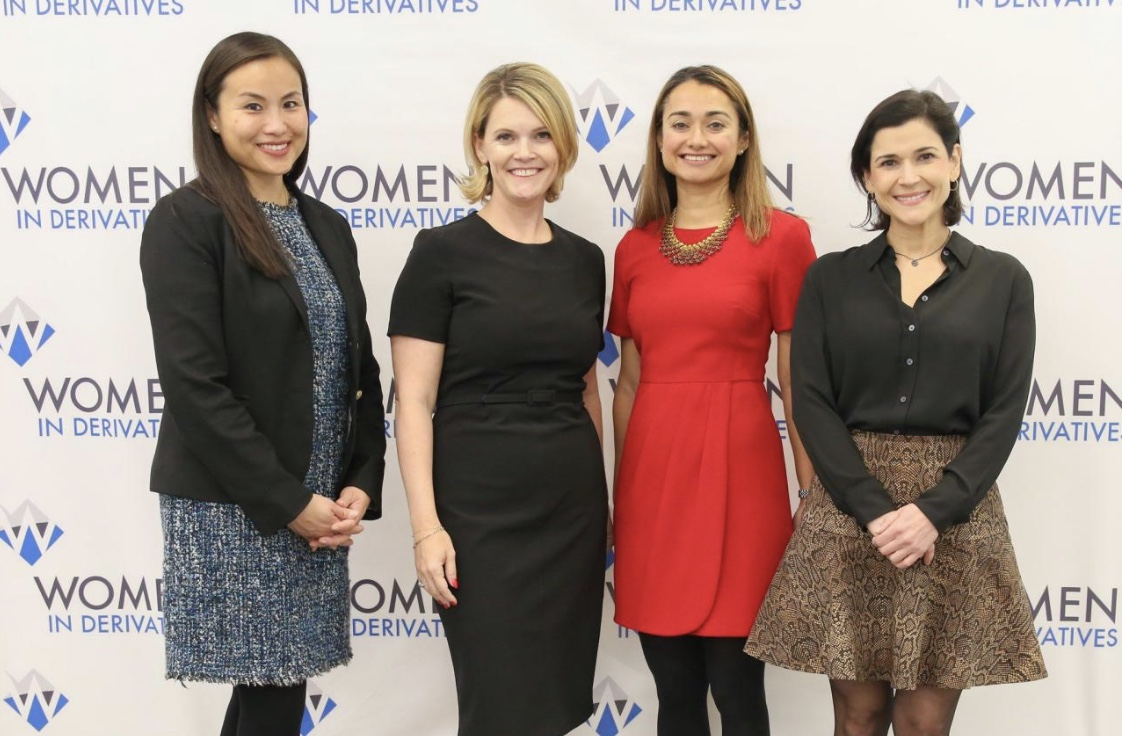 WIND Leadership event 2019 at Citi; panelist from L-R Candise Tse, GS, Kristen Bitterly, Citi, Mariam Rafi. Citi and Carolina Jannicelli at JP Morgan